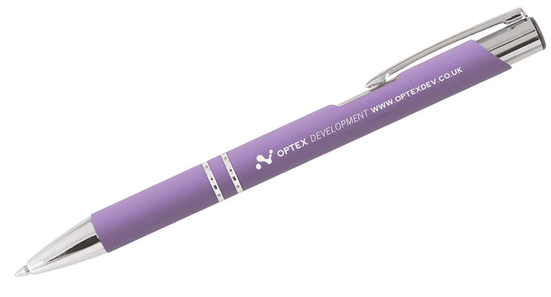 Crosby | Stylo/Stylet bille publicitaire | KelCom Lilas