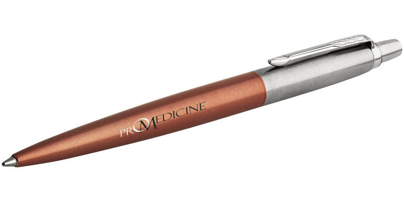 Stylo bille publicitaire | Parker® : Covent CT Jotter | KelCom Copper 2